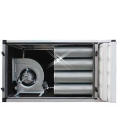 compacte geurfilterkast 5000 m3/h – met motor