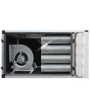 Geurfilterkast met motor 4250 m3/h