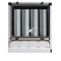 compacte geurfilterkast 1500 m3/h – zonder motor
