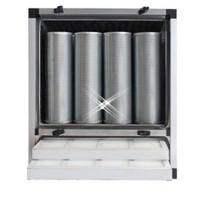 compacte geurfilterkast 2500 m3/h – zonder motor