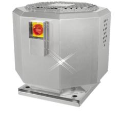 Hittebestendige dakventilator met geluidisolatie