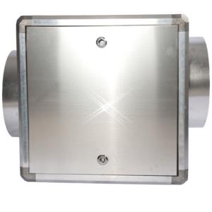 lege afzuigbox aluminium 1000×1000 mm