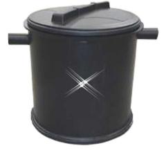 Kunststof vetafscheider 62 liter