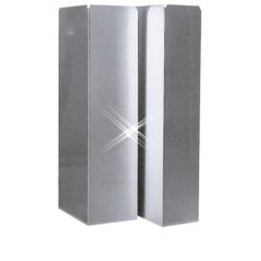 Aluminium instortkanaal 150×150 mm