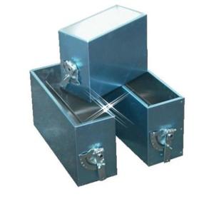 Aluminium instort regelklep 400×400 mm