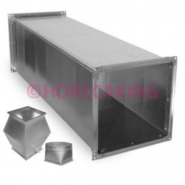 Aluminium instortkanalen en hulpstukken