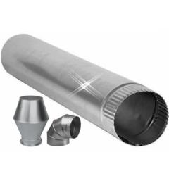 aluminium ventilatiebuizen