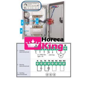 5 Standenregelaar thermisch beveiligd 2.5 ampère – 400 volt