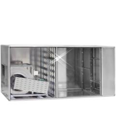 aluminium geurfilterkast 1500 m3/h