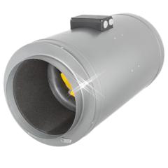 Geïsoleerde buisventilatoren met drie vermogensstanden