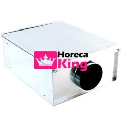 compacte geurfilterkast 800 m3/h – zonder motor
