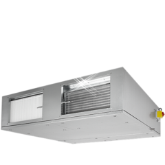 Luchtbehandelingskast tegenstroom 740 m3/h met elektrische verwarmer