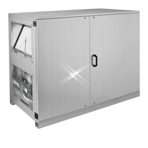 Luchtbehandelingskast tegenstroom 3005 m3/h (horizontale aansluiting)