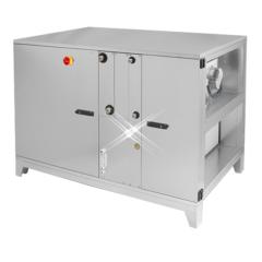 Luchtbehandelingskasten warmtewiel (horizontale)